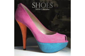 Shoes - 2019 Premium Square Wall Calendar 16 Month New Year Christmas Decor Gift