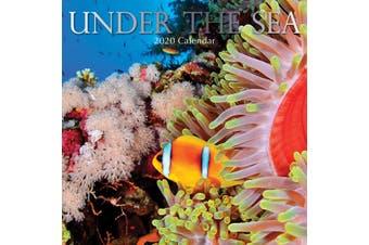 Under the Sea - 2020 Premium Square Wall Calendar 16 Months New Year Xmas Decor