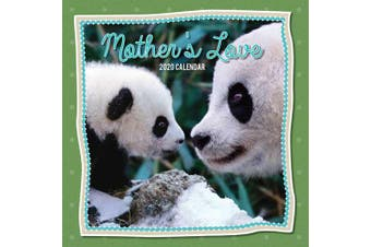 Mother's Love - 2020 Premium Square Pets Animal Wall Calendar 16 Months New Year