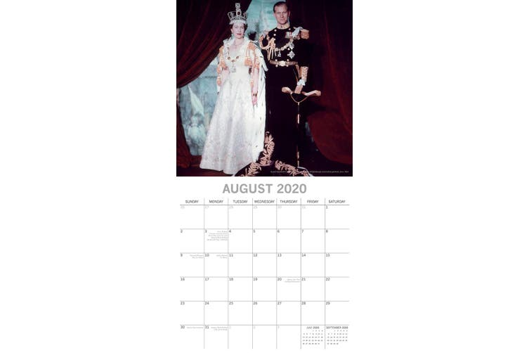 Her Majesty 2020 Premium Square Icons Wall Calendar 16 Month New Year Home Decor