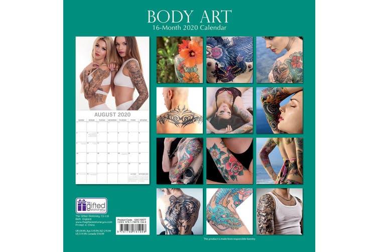 Dick Smith Body Art 2020 Premium Square Wall Calendar 16 Month Newyear Christmas Decor Gift 2020 Calendars 2020 Wall Calendars