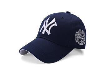 NEW Unisex New York NY Yankees Baseball Mens Women Hat Sport Snapback Cap Cotton - Navy