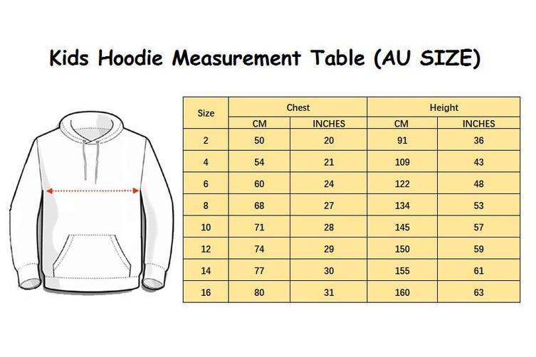 Kids Unisex Basic Pullover Hoodie Jumper School Uniform Plain Casual Sweat Shirt - Purple (Size:2)
