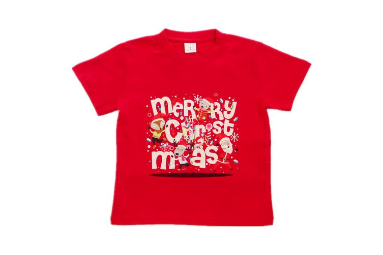 New Funny Unisex Xmas Christmas T shirt Tee Adult Kids Mens Womens Boys Santa - Merry Christmas (Size:12/XL (For age 10-14))