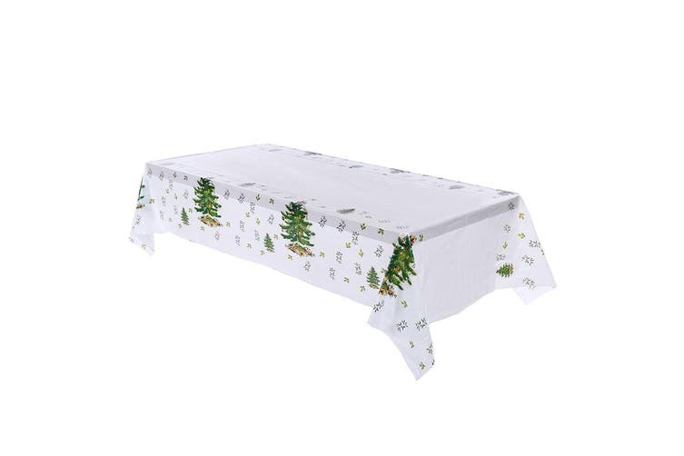 New Christmas Branch Table Cover Cloth Wedding Xmas Dinner Party Home Decoration - Christmas Trees