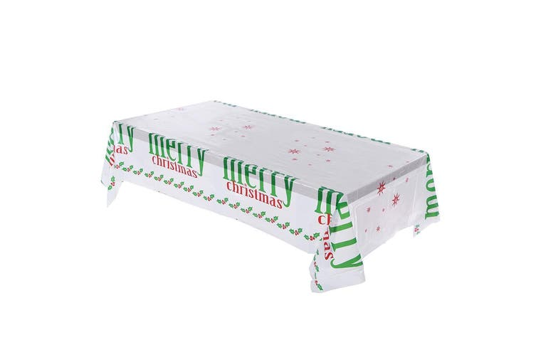New Christmas Branch Table Cover Cloth Wedding Xmas Dinner Party Home Decoration - Merry Christmas