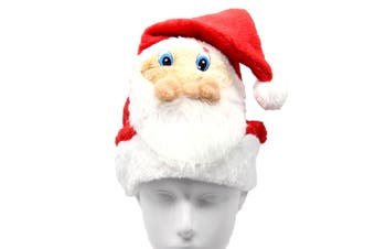 Christmas Unisex Adults Kids Novelty Hat Xmas Party Cap Santa Costume Dress Up - Santa Claus