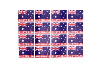 32x Australia Day flag Southern Cross Decal Sticker Label ANZAC Gift Souvenir
