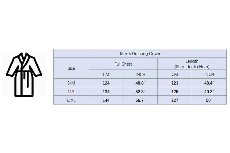 New Men's Women's Supersoft Luxurious Coral Fleece Bath Robe Dressing Gown Warm - Mint (Size:Women's S/M)