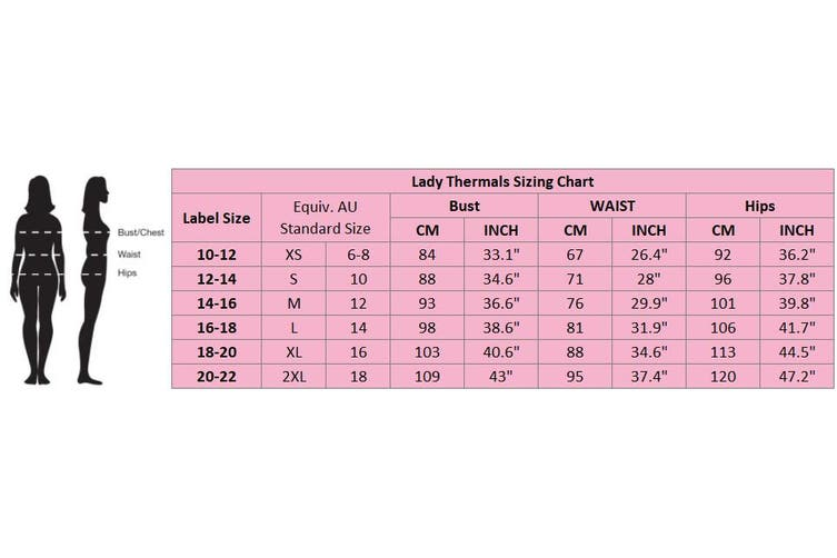 Women's Merino Wool Long Sleeve Top Thermals Floral Underwear Spencer Pajamas AU - Beige (Size:12-14)