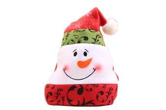 Christmas Unisex Adults Kids Novelty Hat Xmas Party Cap Santa Costume Dress Up - Snowman