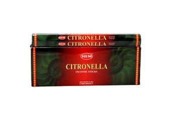 120 HEM Incense Sticks Nag Champa Hex Meditation Aroma Floral Home Fragrance