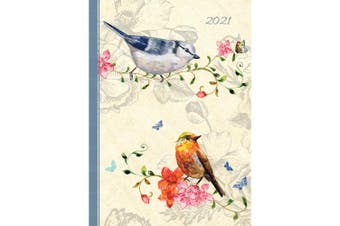Belle Faune 2021 Premium Diary Planner A5 Padded Cover Christmas New Year Gift