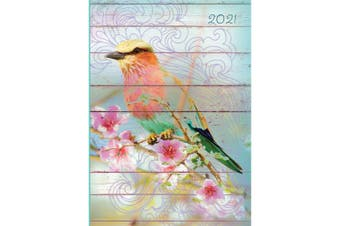 Dawn Chorus 2021 Premium Diary Planner A5 Padded Cover Christmas New Year Gift