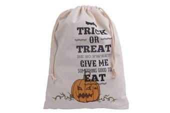 Halloween Sack Hessian Stocking Candy Bag Children Gifts Christmas Treat Trick - Pumpkins - Trick or Treat