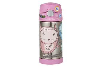 Thermos Funtainer Drink Bottle 355ml Owl