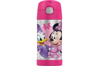 Thermos Funtainer Drink Bottle 355ml - Disney Minnie Mouse