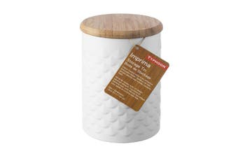 Typhoon Imprima Scallop Canister 1.2 L White