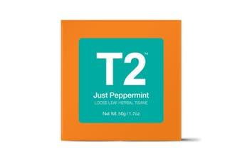 T2 Loose Tea - Just Peppermint 50g O/B