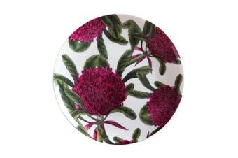 Maxwell & Williams Royal Botanic Garden Plate 20cm Telopea Gift Boxed
