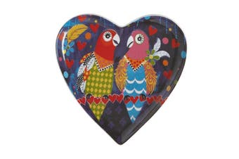 Maxwell & Williams Love Hearts Heart Plate 15.5cm Love Birds Gift Boxed