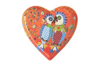 Maxwell & Williams Love Hearts Heart Plate 15.5cm Fan Club Gift Boxed