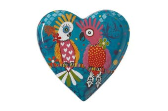 Maxwell & Williams Love Hearts Heart Plate 15.5cm Chatter Gift Boxed