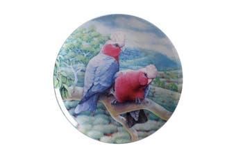 Maxwell & Williams Birds Of Australia Kc 10yr Anniversary Plate 20cm Galah Gift Boxed