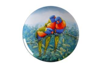 Maxwell & Williams Birds Of Australia Kc 10yr Anniversary Plate 20cm Lorikeet Gift Boxed