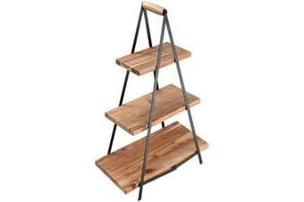 Ladelle Serve & Share Acacia Serving Tower 3 Tier