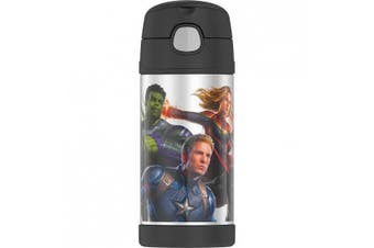 Thermos Funtainer Drink Bottle 355ml - Marvel Avengers