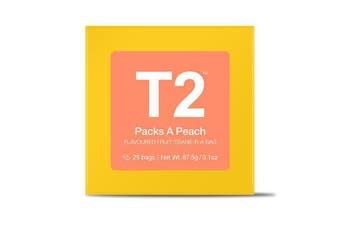 T2 Teabags - Packs A Peach Tbag 25pk Y/B