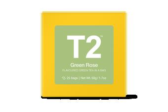T2 Teabags - Green Rose Bio Tbag 25pk Y/B