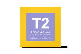 T2 Teabags - French Earl Grey Bio Tbag 25pk Y/B