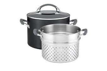 Anolon Endurance + 7.6l/24cm Stock Pot With Pasta Insert