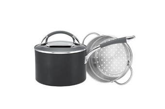 Anolon Endurance + 2.8l/18cm Saucepan W Bonus Steamer