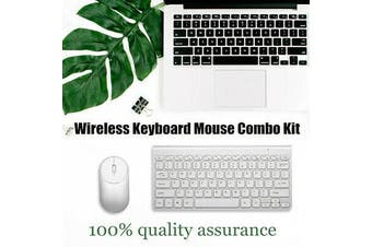 2.4G Optical Wireless Keyboard Mouse USB Receiver Kit for PC Laptop Suit AU