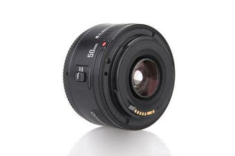 YONGNUO EF 50mm f / 1.8 AF Lens Aperture Auto Focus for Canon EOS DSLR Camera