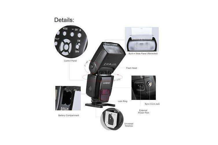 Wireless Flash Speedlite Speedlight for YONGNUO 560IV Canon Nikon A7 Camera