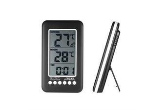 Digital Thermometer Hygrometer Clock Wireless Indoor/Outdoor Transmitter T9N0