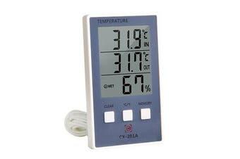 Digital Thermometer Hygrometer Temperature Humidity Meter °C/°F Max Min Display