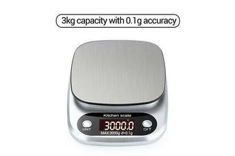 Calibration Gram Weight Body Fat Scales Digital Milligram Kitchen Jewelry Scale[3kg*0.1g]