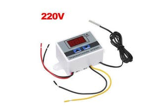 Digital Electric LED Temperature Controller Thermostat Switch With Sensor Probe