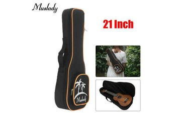 Muslady 21'' Soprano Ukulele Bag Uke Ukelele Zippered Case Coconut Tree AU Ship