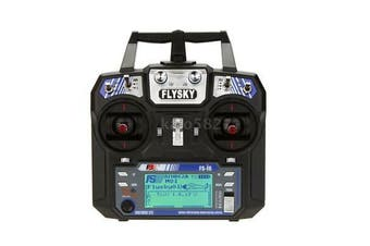 Flysky 2A 2.4GHz 6CH Radio System Transmitter for RC Helicopter Glider Mode 2
