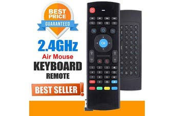 Universal MXIII Air Mouse Keyboard Remote For MXQ H96 X96 Android TV Box