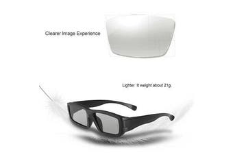 Passive Polarized 3D Glasses for LG Panasonic Vizio TV Real D Film 3D Cinema