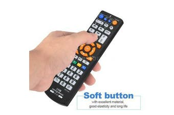 Universal Wireless Smart TV Remote Control W/Learning Function F/TV CBL DVD