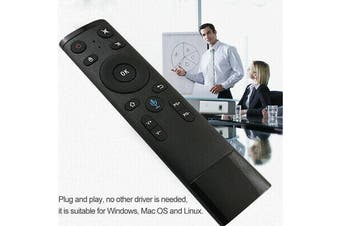 Home Voice Input Remote Control Wireless Controller for HTPC Android TV Box