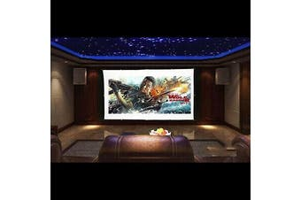 Portable 150'' inch Projector Screen 16:9 Home Cinema Theater Diagonal Hook